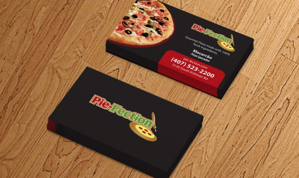 Business Card -  Pie Fection Orlando