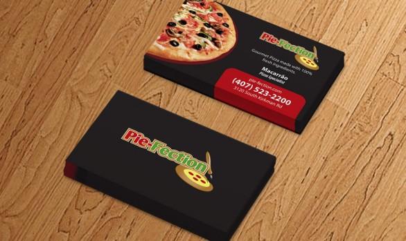 Business Card -  Pie Fection Orlando