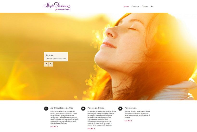 Web Design - Mente Feminina