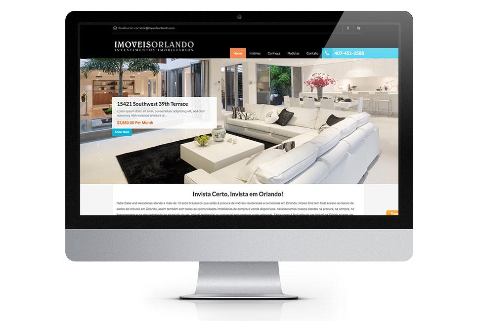 Web Design - Imoveis Orlando