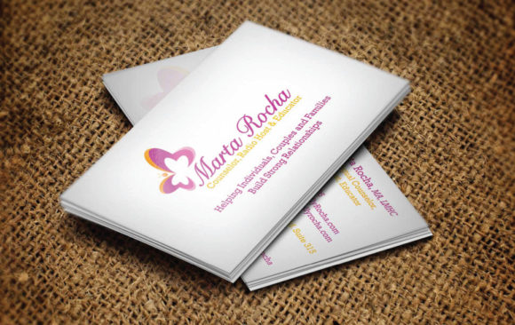 Business Card -  Marta Rocha