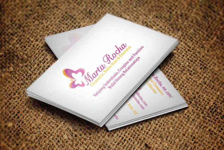 Business Card -  Marta Rocha