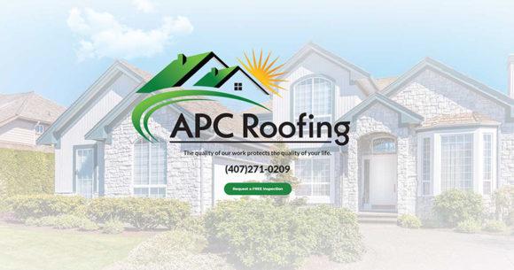 Web Design - APC Roofing