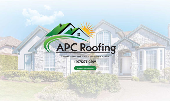 Web Design - APC Roofing